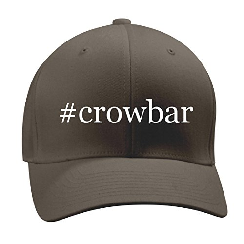 #crowbar - A Nice Hashtag Men's Adult Baseball Hat Cap, Dark Grey, Small/Medium