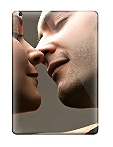 Flexible Tpu Back Case Cover For Ipad Air - Hds Love Kiss Sending Free Screen Protector