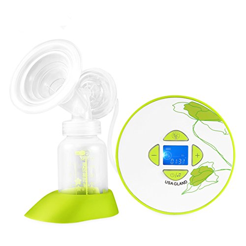 Gland Portable Single Electric Breast Pump, Comfortable BrestPumps Pumping Milk for Breastfeeding Baby, Hospital Grade,BPA Free