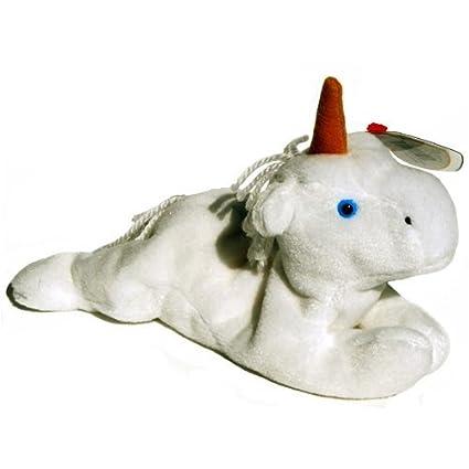 Amazon.com  Ty Beanie Babies - Mystic the Unicorn (Brown Horn ... 030338cd40ef