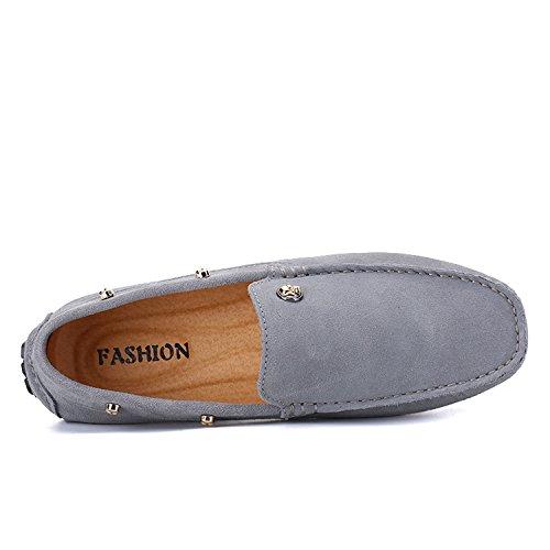 Icegrey Men's Moccasin Boots Grey RavfpW8f8l