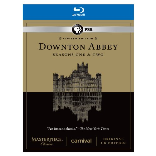 Downton Abbey Seasons 1 & 2 Limited Edition Set - Original UK Version Set [Blu-ray] (Downton Abbey Season 1 Blu Ray)