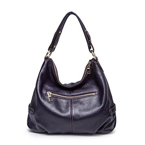 Eysee - Cartera de mano para mujer Varios colores negro 38cm*30cm*16cm morado oscuro