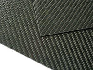 Sano Factory マットカーボンプレート 綾織 350mm x 150mm t0,2mm