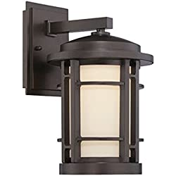 "Designers Fountain LED22431-BNB Barrister 9"" LED Wall Lantern"