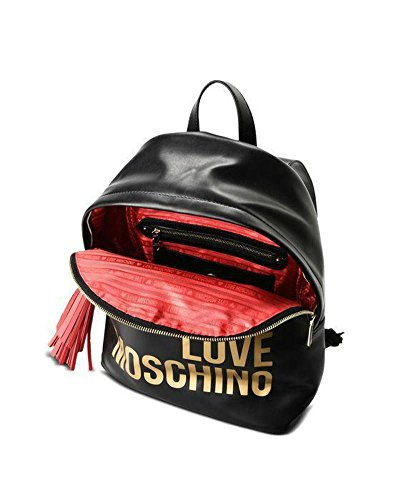 Moschino Charm Donna Nero Backpack Love MzqUpSV