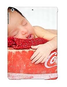 Premium Tpu Baby Box Sleep Cocacola Cover Skin For Ipad Air