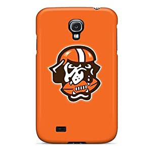 For Galaxy S4 Tpu Phone Case Cover(cleveland Browns 6)