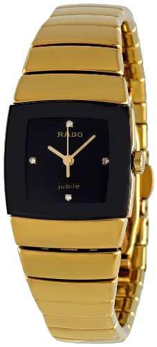 Rado Women's R13843712 Sintra Black Dial Watch