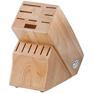 Chicago Cutlery Essentials 15-Piece Block Set, The Full Metal Tangs Provide Added Strength, Balance And Control.