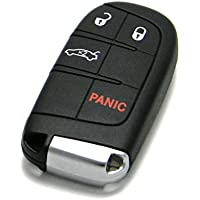 OEM Dodge Keyless Entry Remote Fob 4-Button Smart Proximity Key (FCC ID: M3N-40821302 / P/N: 68051387)