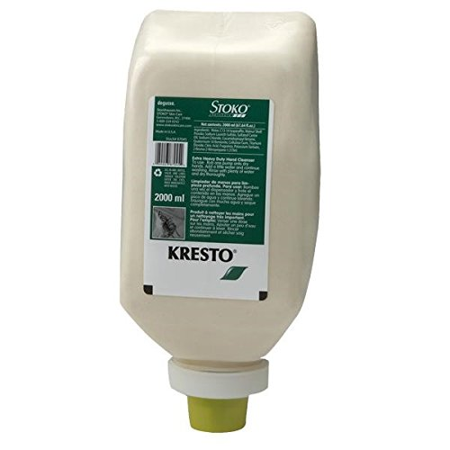 Deb Group Kresto Extra Heavy Duty Cleanser, 2000 mL Refill (12 Pack) by Stoko