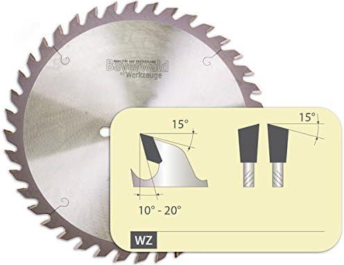 Disco de sierra de mesa Bayerwald, diámetro de 254 mm x 2,8 mm x ...
