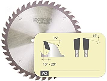 Bayer Bosque - Hm mesa Sierra circular para madera - 250 mm de ...