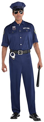 On Patrol Costume Size L (Party City Costume Accessories)