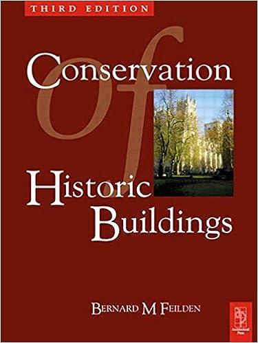 Book Conservation of Historic Buildings by Bernard Feilden (6-Jun-2003)