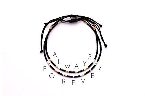 morse-code-always-forever-matching-couple-bracelet