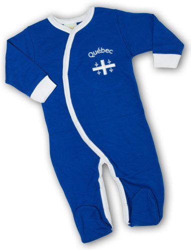 Price comparison product image PAM GM Quebec Royal blue embroidered sleeper 24 Months