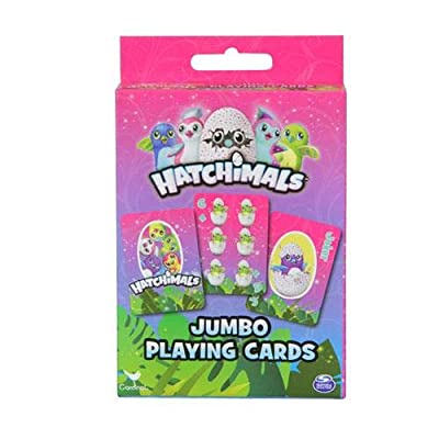 Hatchimals 6045071 Playing Cards, Multi-Colored: Toys & Games