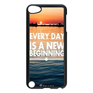 Dacase iPod Touch 5 Case, every end is a new beginning Custom iPod Touch 5 Cover