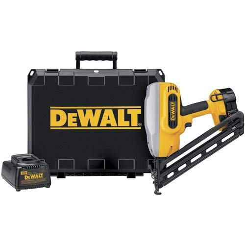 DEWALT DC628K XRP 1-1/4-Inch to 2-1/2-Inch 15-Gauge 34 Degree Angled Finish Nailer