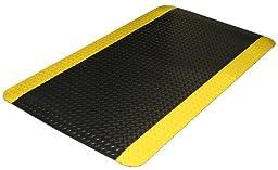 Durable Corporation Vinyl Heavy Duty Diamond-Dek Sponge Anti-Fatigue Mat, 24\