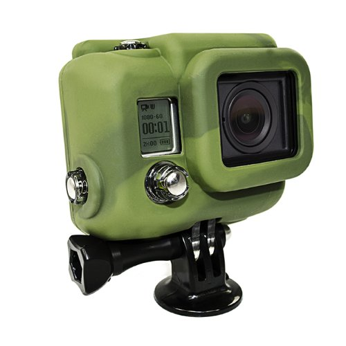 XSories Silicone Cover for GoPro HERO3 Camera Housing, Protection and Increased Battery Life