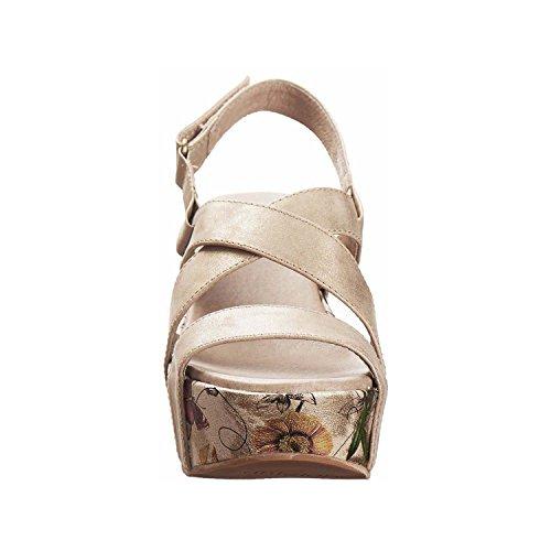 Antelope 817 Sandalo Con Cinturino In Oro