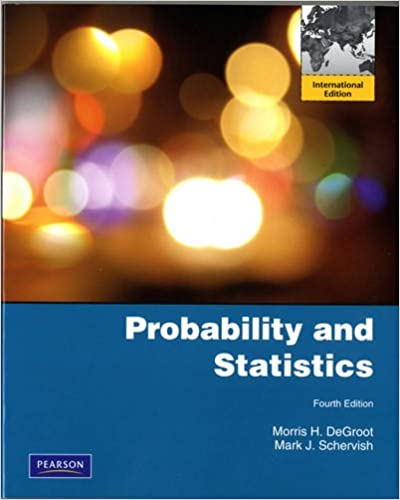 Book Probability and Statistics International Edition