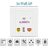 Elzoneta Long Range 11b/g/n 2.4G Wireless Outdoor Access Point, Ideal for Garden Wireless, Flexible Installation
