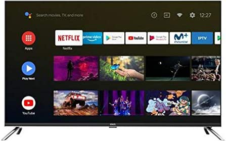 TV EVVO CHIQ 43UHD Android TV UHD- 4K HDR10 Chromecast Incluido Sonido Dolby 43