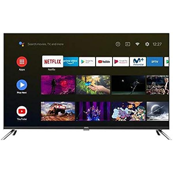 TV EVVO CHIQ 43UHD Android TV UHD- 4K HDR10 Chromecast Incluido ...