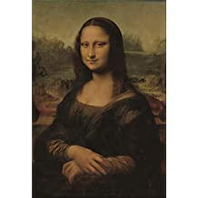 Canvas Prints Of Oil Painting ' Leonardo Da Vinci,Mona Lisa,1503-1507 ' , 24 x 35 inch / 61 x 90 cm , High Quality Polyster Canvas Is For Gifts And Bar, Bed Room And Garage Decoration, wall artwork