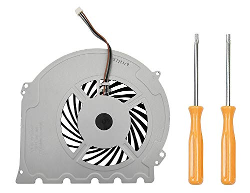 (Replacement Internal Cooling Fan KSB0912HD Compatible with PS4 Slim CUH-2015A CUH-2016A CUH-2017A CUH-20xx CUH-21xx CUH-22xx Models + Tool Kit)