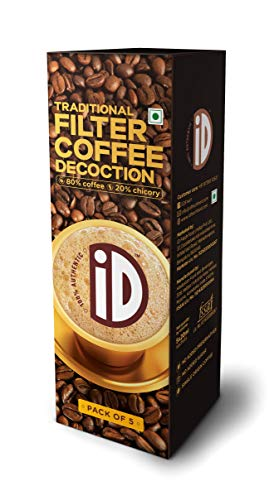 ID South Indian Filter Coffee Decoction 15 X 30 ml - Coffee Indian South Filter