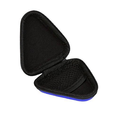 For Fidget Hand Spinner, Ouneed ® Para inquieto mano Spinner triángulo dedo juguete Focus ADHD Bolsa regalo (Azul) Azul