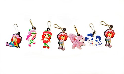 Lemon Strawberry Shortcake Costumes Meringue (AVIRGO 7 pcs Zipper Pull Charms for Jacket Backpack Bag Pendant Set #)