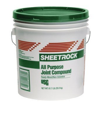 Lightweight Joint Compound - US Gypsum 380208-RDC03 4.5LB Pail All Purpose Compound
