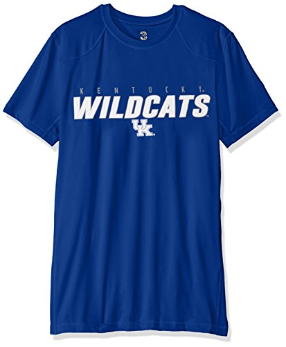 NCAA Kentucky Wildcats Men's Official T-shirt, Medium, Royal Blue