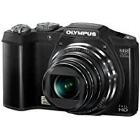 Olympus SZ-31MR 16MP CMOS Camera with 24x Wide-Angle Zoom and 3-inch 920k Hi-Res LCD Touch Panel (Black) (Old Model)