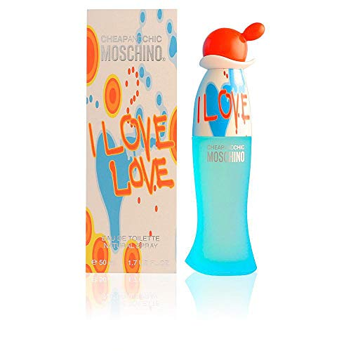 Moschino I Love Eau de Toilette Spray for Women, 3.4 Fluid Ounce