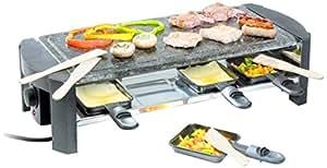 Domo Grill De Piedra Y Raclette Para 8 Personas DO9039G