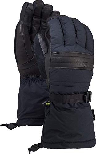 Burton Men's Gore-tex Warmest Glove, True Black, Large