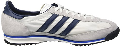 adidas SL 72, Zapatillas de Deporte para Hombre Blanco / Azul Marino / Gris (Ftwbla / Maruni / Reabri)
