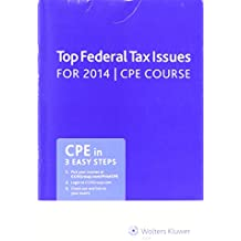 Amazon cch editorial staff books top federal tax issues for 2014 cpe course fandeluxe Images