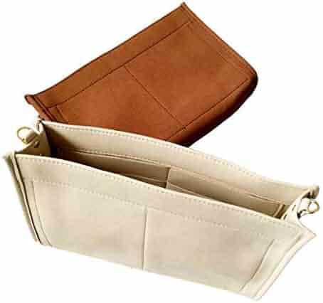 b4897e313 Purse Organizer Insert Fit LV Toiletry Pouch 26 19 Handbag Shaper Premium  Felt