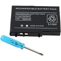 Para Nintendo DS Lite NDSL Recargable Bateria+Tornillo Driver Herramienta