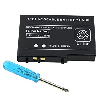 Para Nintendo DS Lite NDSL Recargable Bateria+Tornillo ...