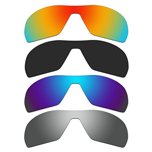 4 Pair Replacement Polarized Lenses for Oakley Offshoot Sunglasses Pack - Lenses Offshoot Polarized Oakley
