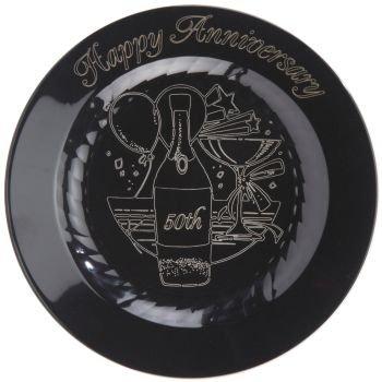 50th Anniversary Premium Plastic Plates Masterpiece 7-1/2-inch 15 Per  sc 1 st  Amazon.com & Amazon.com: 50th Anniversary Premium Plastic Plates Masterpiece 7-1 ...